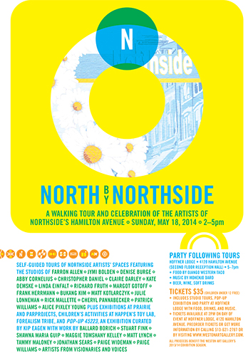 North By Northside Poster